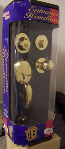 LSDA Entrance Handle Set & Deadbolt