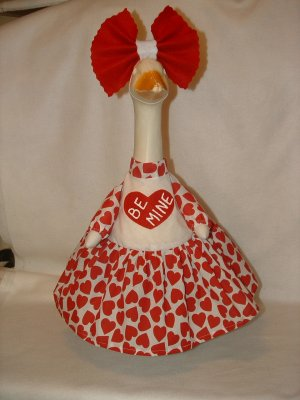 VALENTINE BE MINE Dress Lawn Goose Clothes Outfit