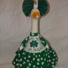 ST. PATS KISS ME Dress Lawn Goose Clothes Outfit