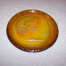 CARNIVAL GLASS LIBERTY BELL SAUCER