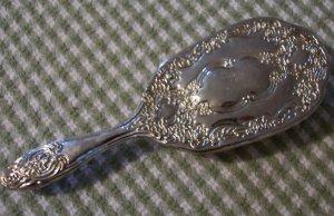 Vintage Sterling Silver Brush