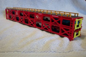 Bachman ATSF 88969 Car Carrier w/cars