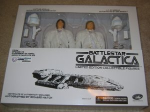 """Apollo & Starbuck 12"""" figures Limited Edition"""