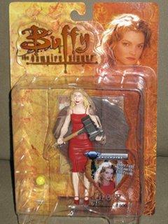 Buffy the Vampire Slayer Red Dress Glory signed