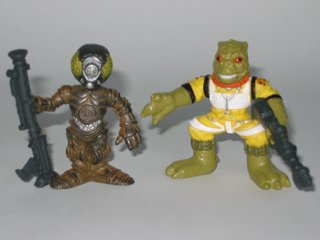 Galactic Heroes 4-LOM and Bossk Star Wars