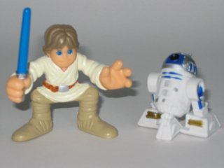 Galactic Heroes Luke Skywalker and R2-D2  Star Wars