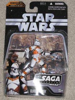 Star Wars Orange Utapau Clone Trooper
