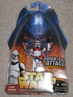 Star Wars Shock Clone Trooper #6 Revenge of the Sith