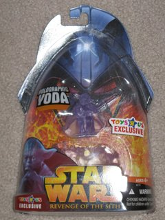 Star Wars Exclusive Holographic Yoda ROTS