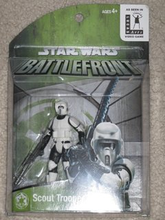 Star Wars Exclusive Battlefront Scout Trooper