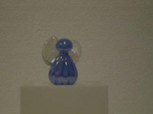 Blue Glass Angel