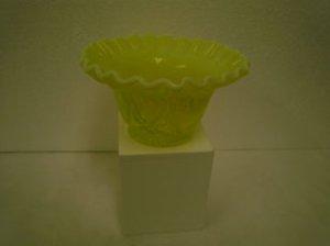 Yellow Glass Bowl