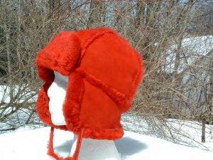 Shearling Trooper hat 6318-blk