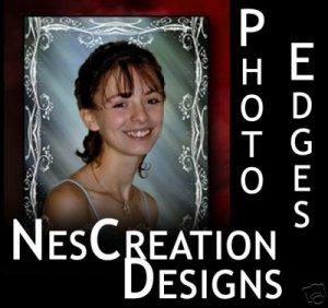 Photo Edges Borders & Digital Backdrops