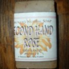 Carolyn's Natural Goat Milk Soap - Second Hand Rose 6 oz. bar