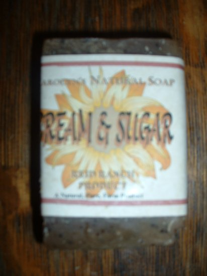 Handmade Natural Goat Milk Soap - Cream & Sugar 6 oz. bar
