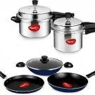 Pigeon Cookware Set ( Aluminum 6 - Pieces) fast shipping
