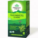 Organic India Tulsi Green Tea Classic Stress Relieving & Refreshing (25 tea bag)