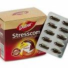 12 x 10 Dabur Stresscom Ashwagandha HERBAL120 Caps FAST SHIPPING