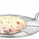 2 × Roasting Net,Stainless Steel Wire Roaster,Cooking Rack,Chapati Grill