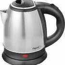 Pigeon Favourite Electric Kettle (1.5 L) Silver and Black