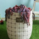 Keep you organized, Cortina Grey and Brown Printed Laundry bag get within 4 days