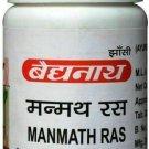 4 X 40tab Baidyanath Manmath Ras Tablets For Men Sexual Wellness Fast  Shipping