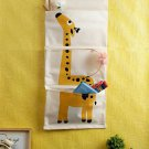 Yellow and White Multi Utility Wall Hanging organizer get within 7 days through