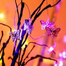 Tayhaa White Butterfly Shaped String Lights get fast through DHL Express
