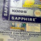 KORES Blue Carbon Copy Paper Supplies 210x330mm size100 sheets Office Craft  FS