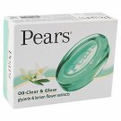 Pears Transparent soap oil clear glycerin & lemon flower extracts 75 gm pack