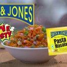 Smith & Jones Pasta Masala - Pack of 20, Free shipping Brand New