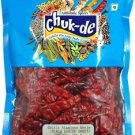 Chukde Spices Red Chilli Whole/Lal Mirch Sabut (Gunter)  (100 g)