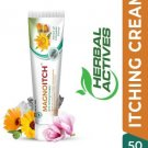 GREEN CURE Magnoitch Herbal Anti Itching Cream with Microsilver and Calendula  (50 g)