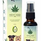 Wiggles Hemp Seed Oil - Dogs and Cats SKIN OIL ( 30 ML )
