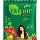 10 × Godrej Nupur Henna Mehendi Powder 9 Herbs Blend,120-grams