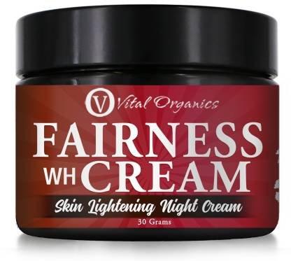 Vital Organics Fairness Skin Whitening Lightening For Men & Women (Night Cream)  (30 g)