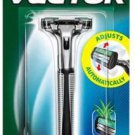 GILLETTE Vector Razor COMFORT STRIP ADJUSTS AUTOMATICALLY PIVOTING HEAD