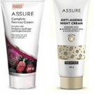ASSURE FAIRNESS SKINCREAM AND NIGHT SKINCREAM COMBO PACK  (2 Items in the set)