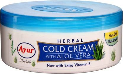 Ayur Herbal Cold SKINCream with Aloe Vera  (200 g)