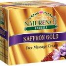 Naturence Harbal Saffron Gold Face Massage SKIN Cream 60gm  (60 g)
