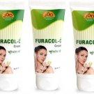 JMD Medico Furacol-C SKIN Cream Pack of 3  (180 ml)