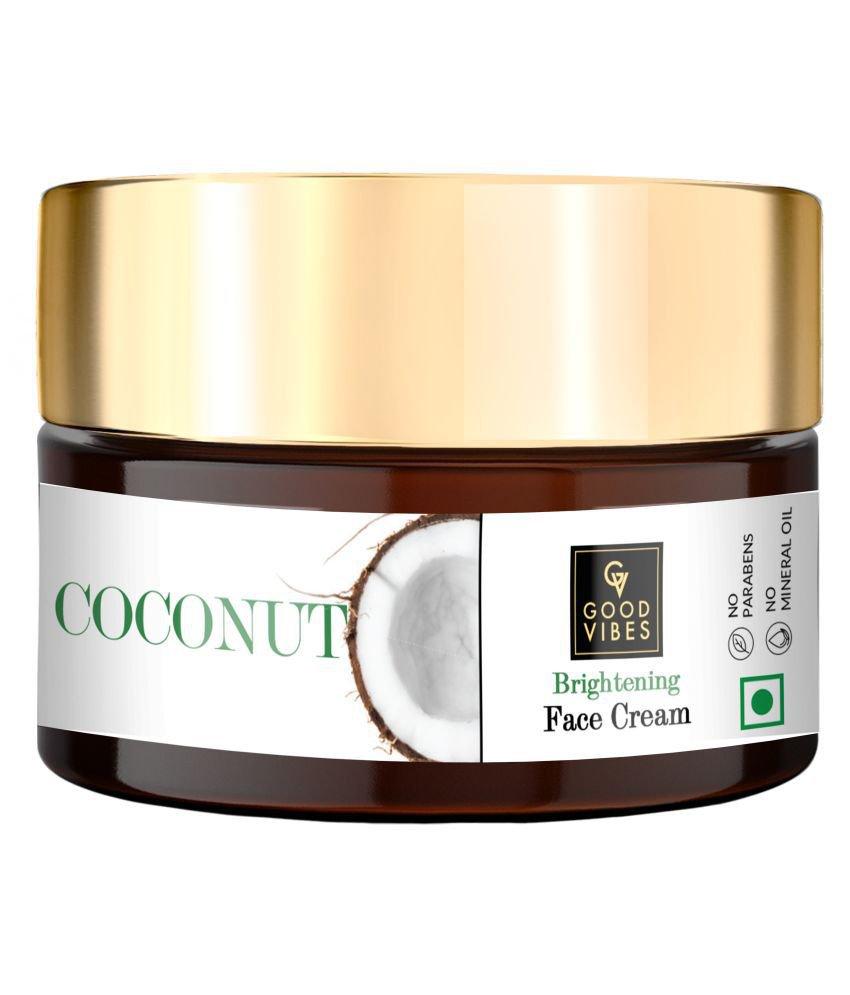 Good Vibes Brightening Face SKIN Cream - Coconut (100 g)