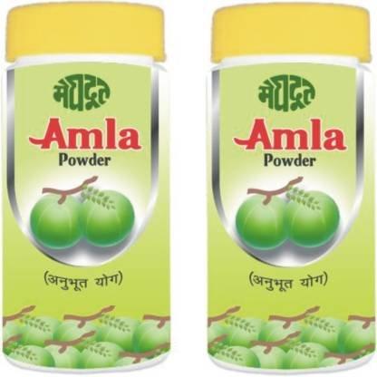 KHADI MEGHDOOT AYURVEDIC AMLA POWDER 100 GM PACK OF 2  (200 g)