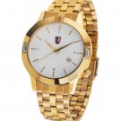 SM MEN'S (DATE) GOLD WATCH NEW
