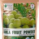 Bliss of Earth Organic Amla Powder Eating & Hair Care, Indian Gooseberry Powder  (450 g)