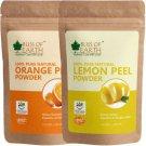 Bliss of Earth Orange & Lemon Peel Powder, 2X100GM  (200 g)