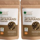 Bliss of Earth 100% Pure Natural Jatamansi Powder For Hair Growth 2x100gm  (200 g)