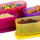 TUPPERWARE - 250 ml Plastic Utility Container  (Pack of 4, Multicolor)