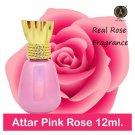 INDRA SUGANDH BHANDAR Attar For Men Women Pink Rose   ( 12 ml )